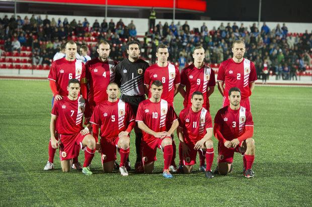 Впервые в истории: сборная Гибралтара победила в Армении