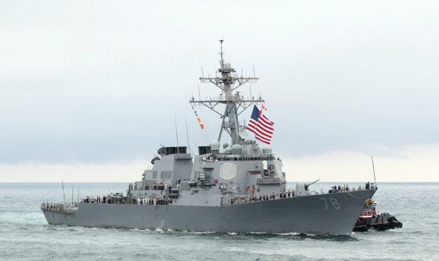 Американский эсминец направляется в Черное море поддержать наших: у оккупантов трясется мотня