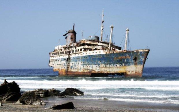 Корабель-привид налякав навіть бувалих спецназівців