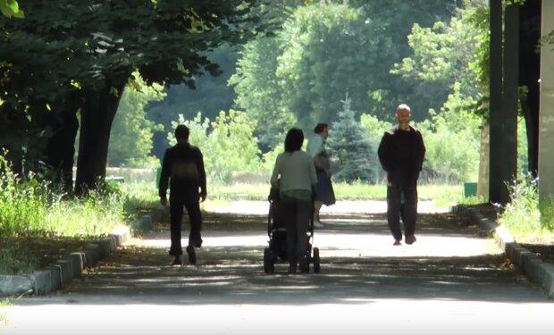парк, Харьков, скриншот из видео