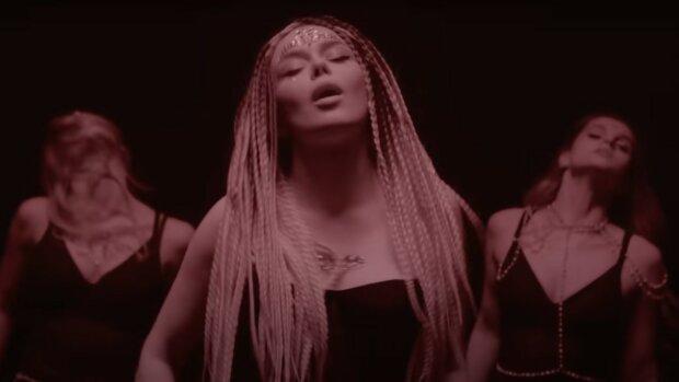 Аліна Гросу, скріншот з відео