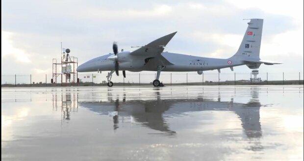 Безпілотник, фото: скріншот з відео