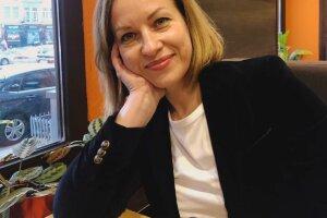 Министр социальной политики Марина Лазебная, фото Facebook