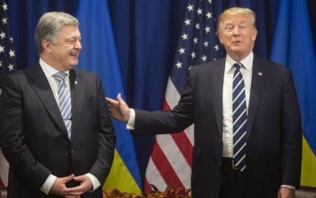 Трамп и Порошенко устроили тайное свидание