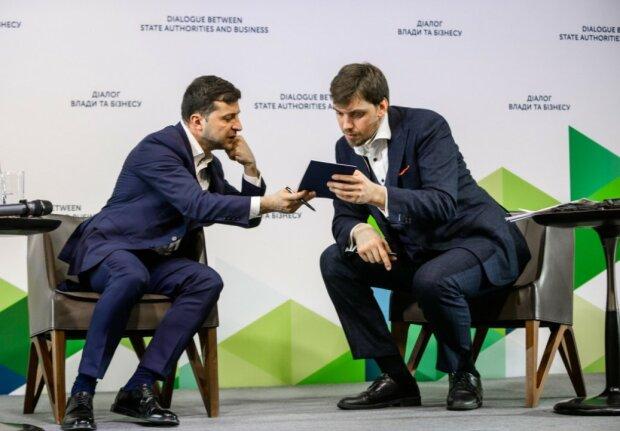 Володимир Зеленський і Олексій Гончарук, фото: Фокус