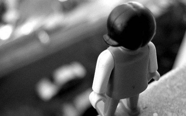 В Киеве ребенок снял собственное самоубийство