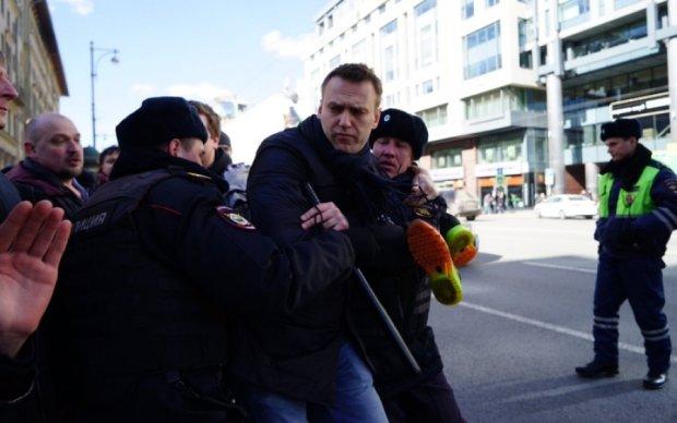 Nike выдвинул Навальному ноту протеста