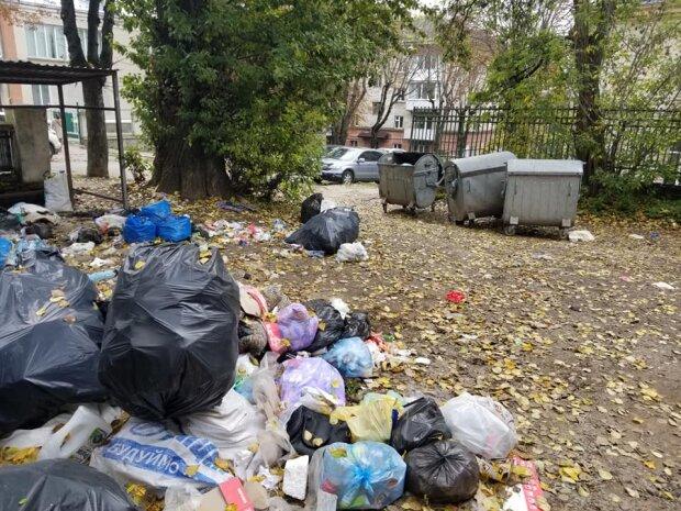 Тернополяне показали свалку в центре города – навалили кучу и ушли