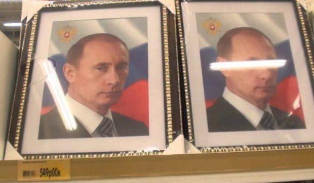 В оккупированном Донецке торгуют портретами Путина