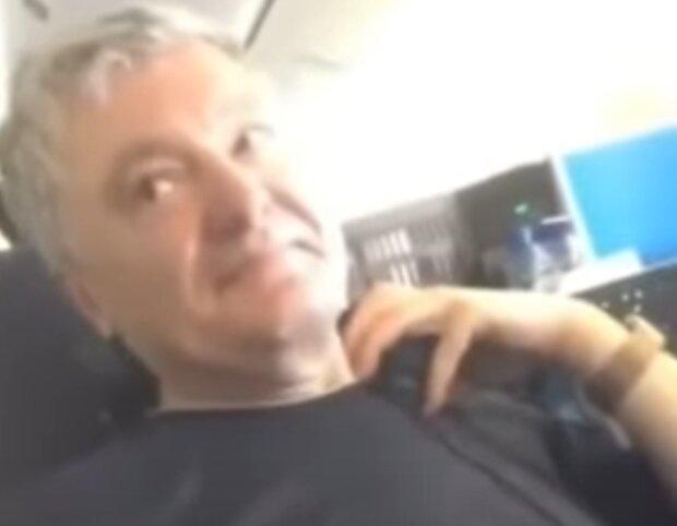 Петро Порошенко, скріншот із відео