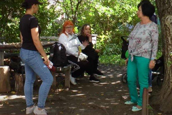 В Мукачево люди страдают от нападений соседки, скриншот