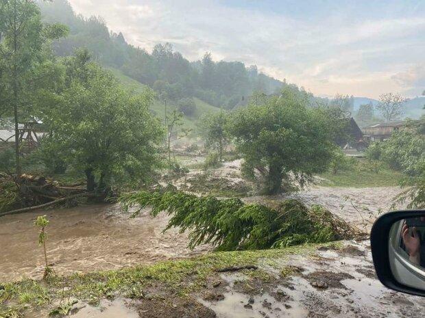 На Прикарпатье 70 сел ушли под воду - голые и босые украинцы рыдают над разрушенными домами