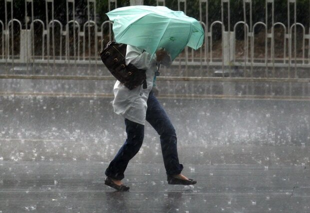 Стихия превратит Львов в город летающих зонтов 23 февраля