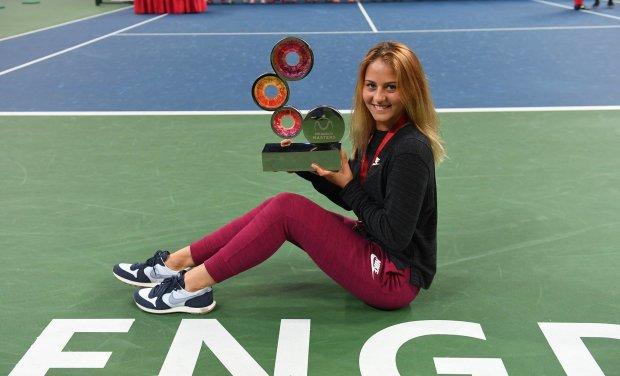 Українка Костюк тріумфально виграла перший турнір в кар'єрі