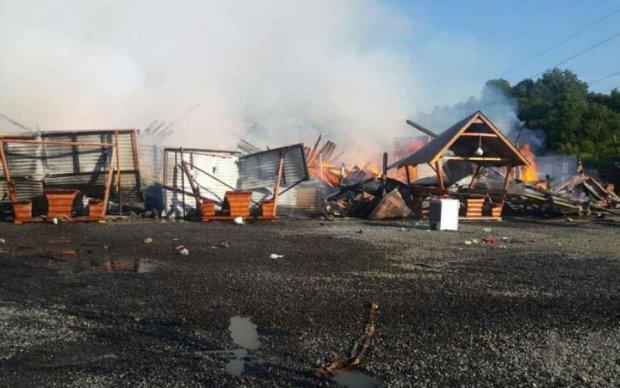 На российском курорте заживо сгорело 8 человек: жуткие кадры