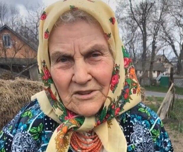 """Зірка TikTok """"Бабуся"""", скріншот із відео"""