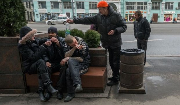 В Москве молодеют бомжи из-за лени и алкоголя