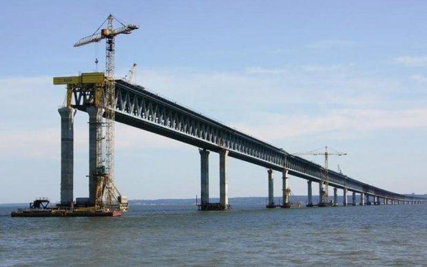 Спустя 3 года Украина заметила Керченский мост