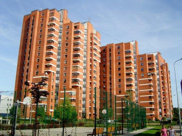киевские многоэтажки