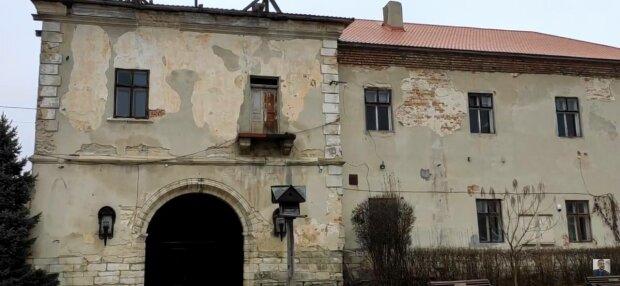 Замок на Львівщині, фото: скріншот з відео