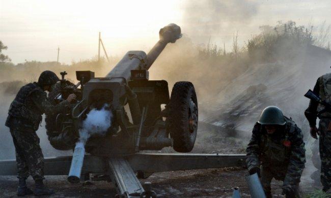 Терористи обстріляли Луганщину 5 разів