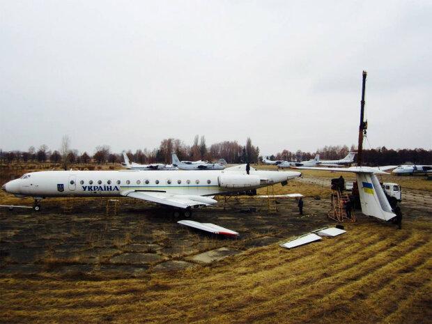 Любимец Кучмы и Ющенко: украинцам показали изнутри президенский самолет, впечатляющие кадры