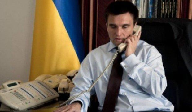 Климкин обсудил с Лавровым ситуацию в Донбассе