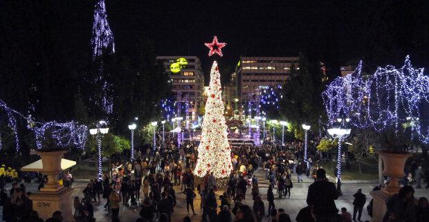 Католическое рождество отмечается в среду 25 декабря, grekomania