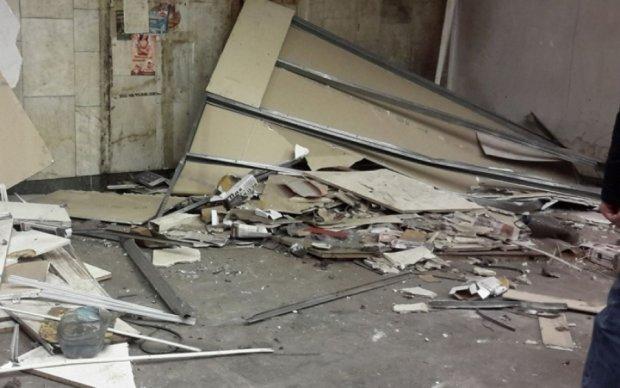 Дві станції київського метро звільнили від кіосків