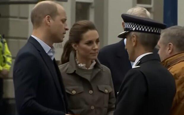 Принц Уильям и Кейт Миддлтон, кадр из видео
