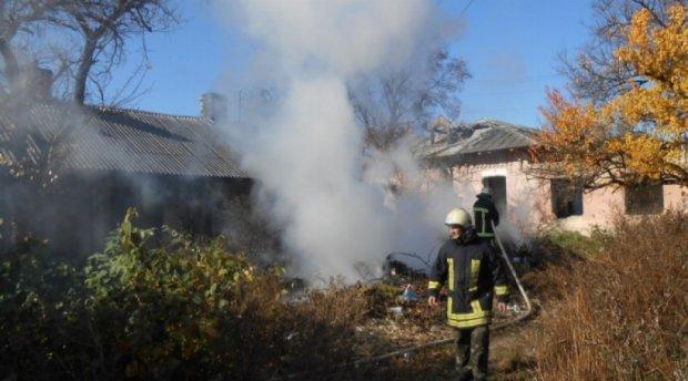Пожежа на Чернігівщині знищила півсела