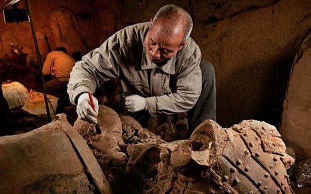 В Китае нашли загадочное захоронение возрастом 2 тысячи лет