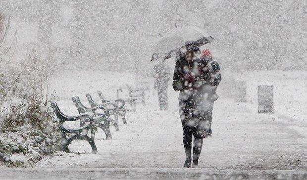У Києві очікується перший сніг