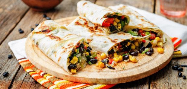 Мексиканская кухня: самый быстрый рецепт настоящего буррито
