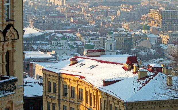Засніжений Київ, фото: Вечірній Київ
