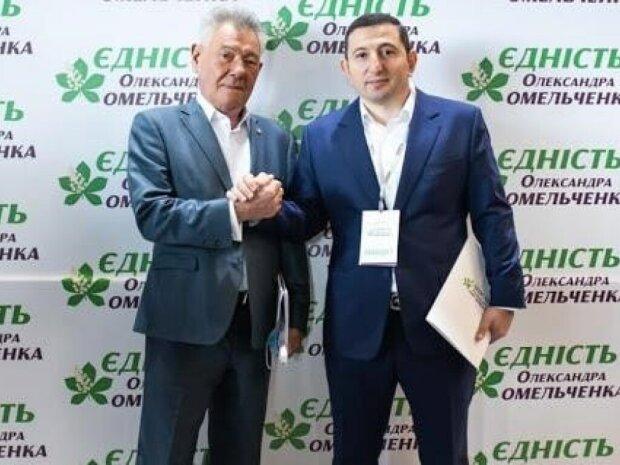 Александр Омельченко и Ваган Товмасян