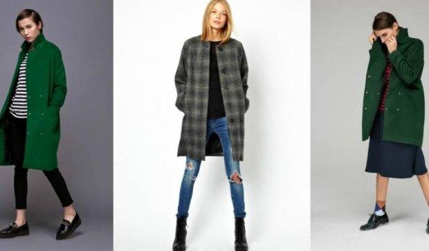 С какой одеждой сочетать пальто