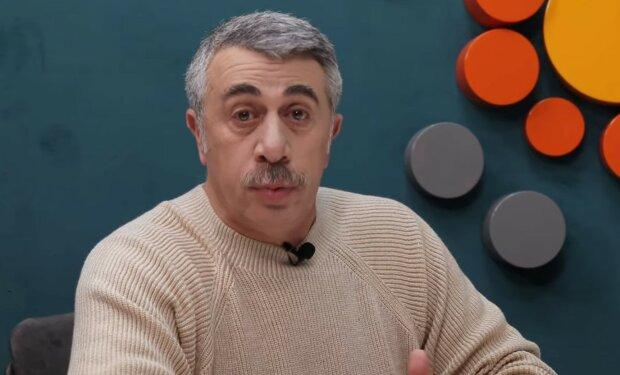Евгений Комаровский, скриншот YouTube