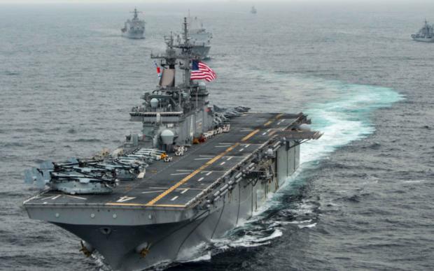 Китайцев раздражают американские корабли