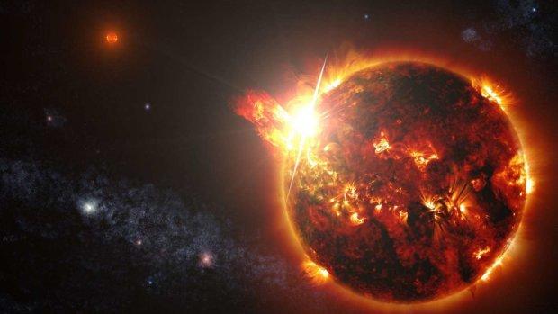 На Сонці з'явилася гігантська пляма розміром із Землю: людство за крок до смерті