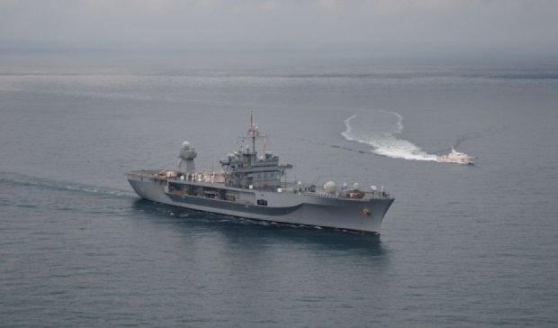 Російський корабель помітили біля кордонів Латвії