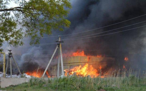 Страшный пожар превратил тернопольскую фабрику в могилу
