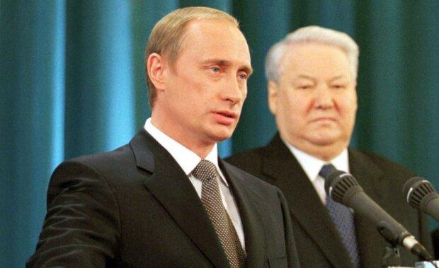 """Путіну і Штайнмаєру нагадали про """"валізне"""" минуле: ось така робота була, фото"""