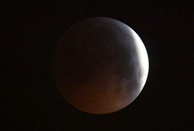 Лунное затмение, фото: REUTERS