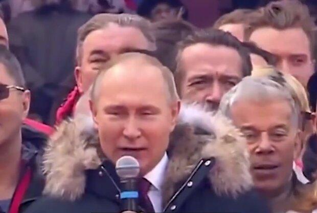 Володимир Путін, кадр з відео