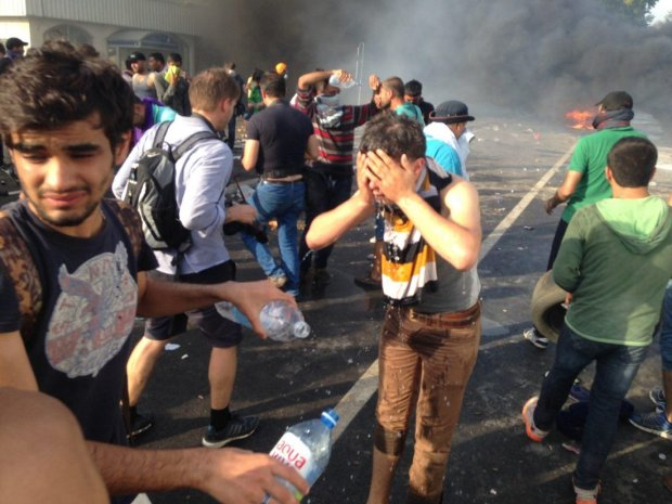 Почався штурм кордону, багато жертв