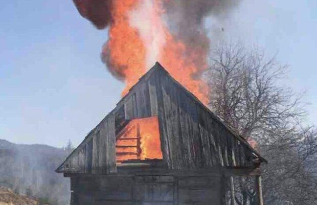 """Пожежа в парку """"Синевир"""", фото: facebook.com/NacionalnijPrirodnijParkSynevir"""