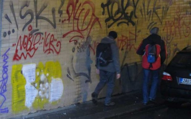 Вандалізм в столичному переході: винуватцю визначили покарання
