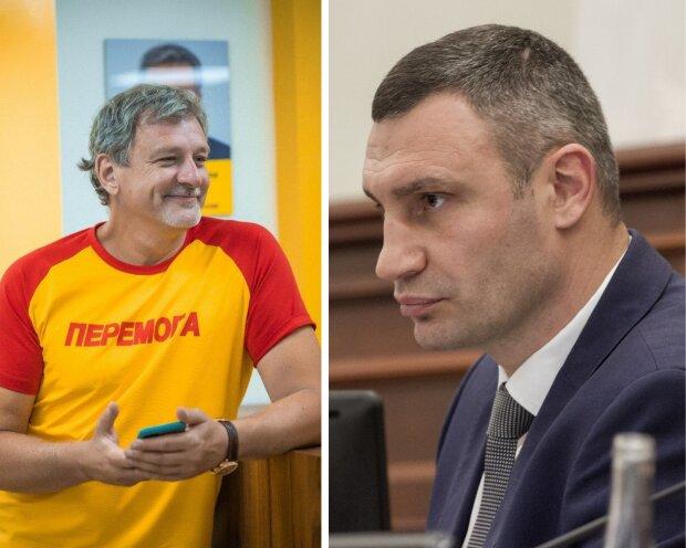Андрій Пальчевський та Віталій Кличко