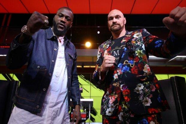 Фьюри и Уайлдер встретились перед боем, Boxingscene